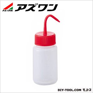 洗浄瓶カラフルバリエ広口 レッド 250ml 4-5668-01 1 個