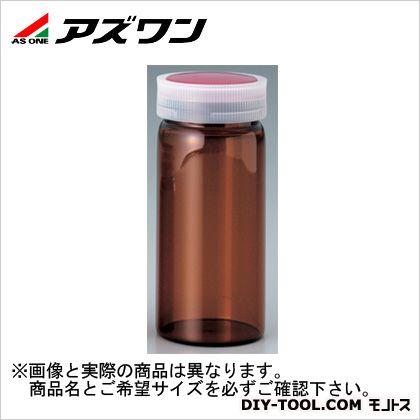 アズワン サンプル管瓶 褐色 3ml 5-097-02 1個