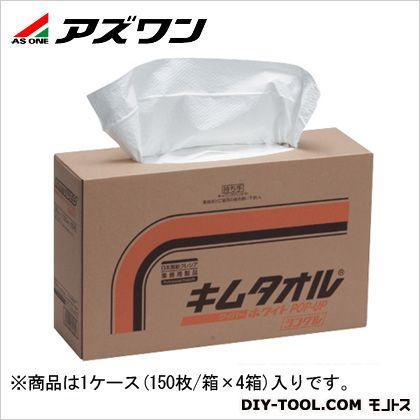 クレシアキムタオルポップアップシングル1Cs(箱)=600枚入 ホワイト  6-6686-05 1ケース(150枚/箱×4箱入)