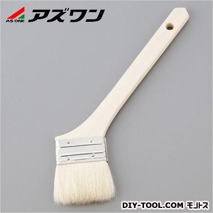 アズワン ハケ 山羊毛・木柄 30mm 1-1639-03 1本