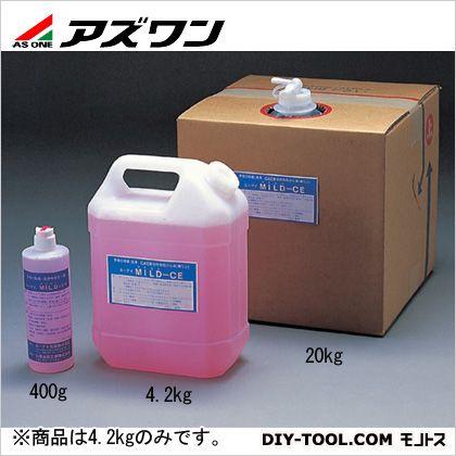 アズワン 石けん液 ユーアイマイルドCE 4.2kg 4-087-02 1個