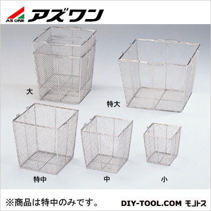 ステンレス角型洗浄カゴ(テーパ付)特中   7-5332-03 1 個