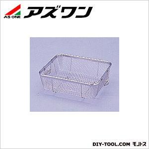 アズワン ステンクリーンバスケット 浅型 370×315×100mm 4-102-02 1個