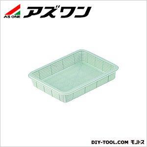 アズワン プラ角型バスケット 浅型 小 7-5649-01 1個