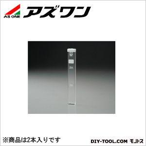 残留塩素測定器角型試験管  20ml 6-9785-11 2 本