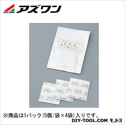 """アズワン 乾燥剤""""アイディシートP"""" 4-4025-01 1パック(5個/袋×4袋入)"""