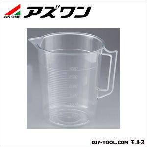 透明計量カップ  3000ml 1-4623-17