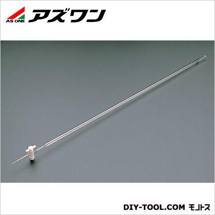 【送料無料】アズワン 活栓付ビュレット硬質ガラス製 白 5ml 6-253-01 1本