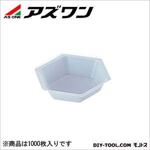 六角バランストレイ  80×70×18.5mm50ml 1-5841-02 1箱(1000枚入)