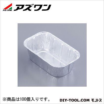 【送料無料】アズワン アルミコンテナー 1-3184-12 1箱(100個入)