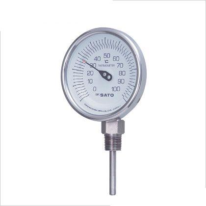 【送料無料】SATO 佐藤バイメタル温度計BMーS型 2030-44