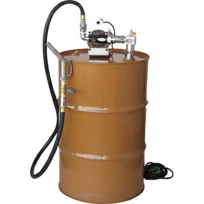 【送料無料】アクアシステム 高粘度オイル電動ドラム缶用ポンプ(100V)オイル油 1230 x 162 x 114 mm EVD100