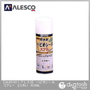 浸透性防水剤ハピオシールスプレー とうめい 420ml