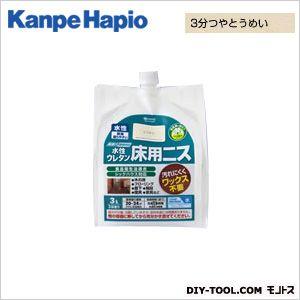 【送料無料】カンペハピオ 水性ウレタン床用ニス 3分つやとうめい 3L
