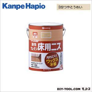 【送料無料】カンペハピオ 油性ウレタン床用ニス 3分つやとうめい 3L
