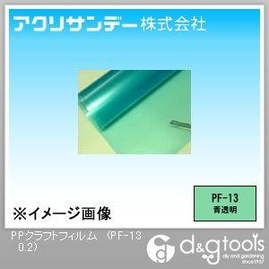 PPクラフトフィルム 青透明 650×460×0.2(mm) PF-13 0.2