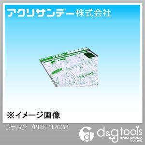 プラバン(ポリスチレン) 透明 257×364×0.2(mm) PB02‐B4C1