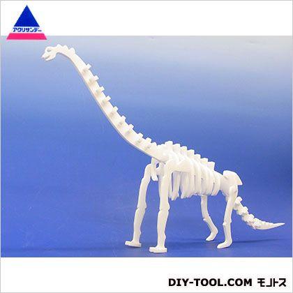 アクリサンデー 化石恐竜組み立てキットプラキオサウルス ホワイト 297×420×3(mm)