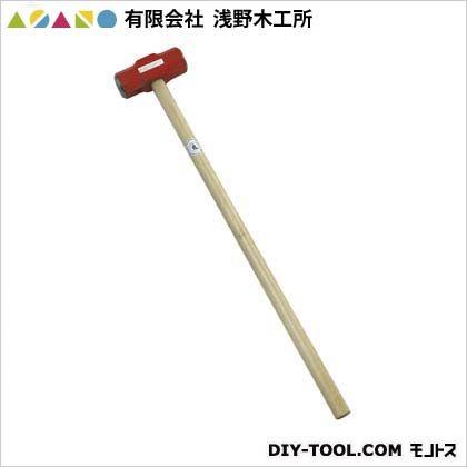 【送料無料】浅野木工所 両口ハンマー柄付6ポンド(2.7kg) 25055 1