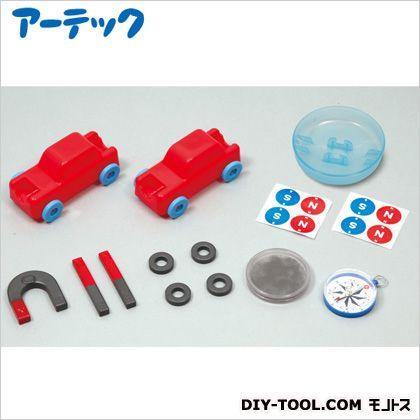 アーテック マグネットミニカーで学ぶ磁石の力 ミニカー(組み立て済):90×45×45mm 55710