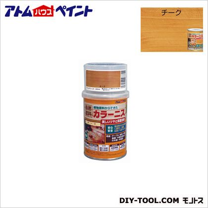 アトムハウスペイント 油性カラーニス(天然油脂ニス) チーク 250ML