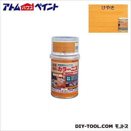 油性カラーニス(天然油脂ニス) けやき 250ML
