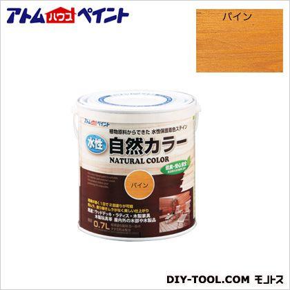 水性自然カラー(天然油脂ステイン)自然塗料 パイン 0.7L