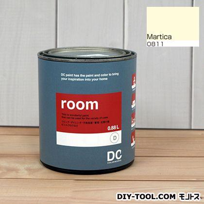 かべ紙に塗る水性塗料Room(室内壁用ペイント) 【0811】Martica 約0.9L