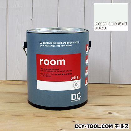【送料無料】DCペイント かべ紙に塗る水性塗料Room(室内壁用ペイント) 【0029】Cherish is the Word 約3.8L