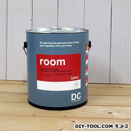 【送料無料】DCペイント かべ紙に塗る水性塗料Room(室内壁用ペイント) 【0195】Mossy Shade 約3.8L