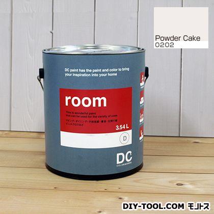 【送料無料】DCペイント かべ紙に塗る水性塗料Room(室内壁用ペイント) 【0202】Powder Cake 約3.8L