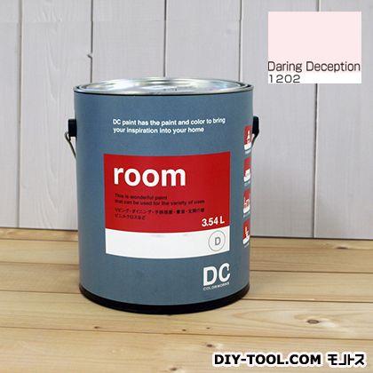 【送料無料】DCペイント かべ紙に塗る水性塗料Room(室内壁用ペイント) 【1202】Daring Deception 約3.8L