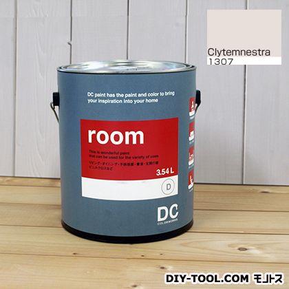 【送料無料】DCペイント かべ紙に塗る水性塗料Room(室内壁用ペイント) 【1307】Clytemnestra 約3.8L