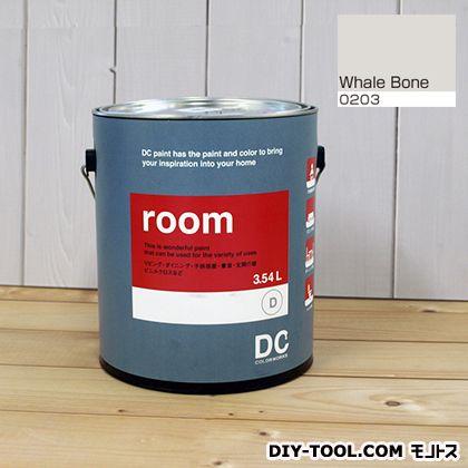 【送料無料】DCペイント かべ紙に塗る水性塗料Room(室内壁用ペイント) 【0203】Whale Born 約3.8L
