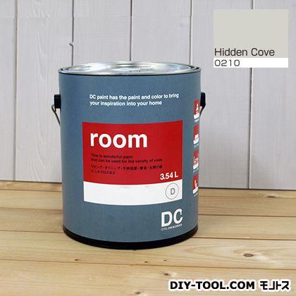 【送料無料】DCペイント かべ紙に塗る水性塗料Room(室内壁用ペイント) 【0210】Hidden Cove 約3.8L