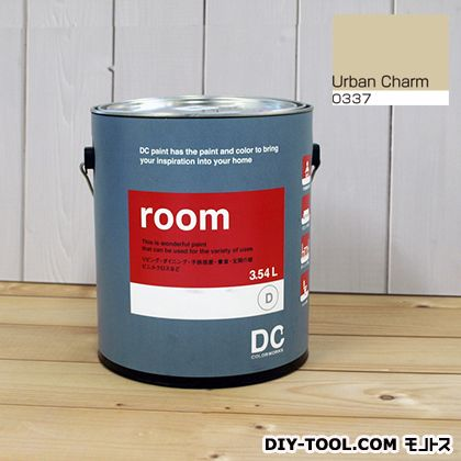 【送料無料】DCペイント かべ紙に塗る水性塗料Room(室内壁用ペイント) 【0337】Urban Charm 約3.8L