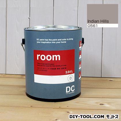 【送料無料】DCペイント かべ紙に塗る水性塗料Room(室内壁用ペイント) 【0561】Indian Hills 約3.8L