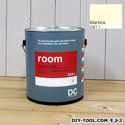 【送料無料】DCペイント かべ紙に塗る水性塗料Room(室内壁用ペイント) 【0811】Martica 約3.8L