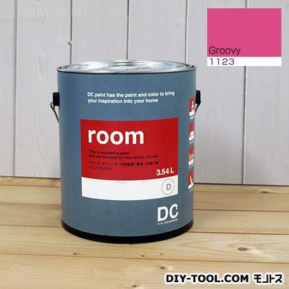 【送料無料】DCペイント かべ紙に塗る水性塗料Room(室内壁用ペイント) 【1123】Groovy 約3.8L