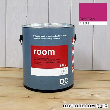 【送料無料】DCペイント かべ紙に塗る水性塗料Room(室内壁用ペイント) 【1131】Can Can 約3.8L