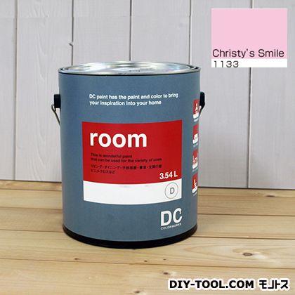 【送料無料】DCペイント かべ紙に塗る水性塗料Room(室内壁用ペイント) 【1133】Christy's Smile 約3.8L