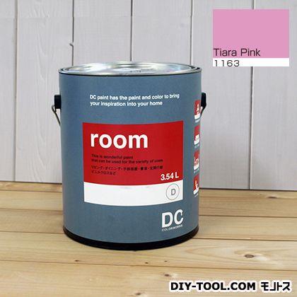 【送料無料】DCペイント かべ紙に塗る水性塗料Room(室内壁用ペイント) 【1163】Tiara Pink 約3.8L