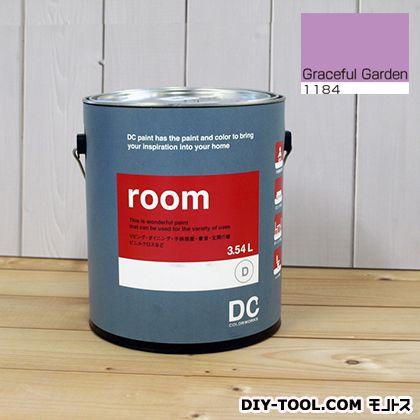 【送料無料】DCペイント かべ紙に塗る水性塗料Room(室内壁用ペイント) 【1184】Graceful Garden 約3.8L