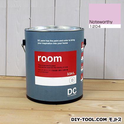 【送料無料】DCペイント かべ紙に塗る水性塗料Room(室内壁用ペイント) 【1204】Noteworthy 約3.8L