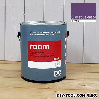 【送料無料】DCペイント かべ紙に塗る水性塗料Room(室内壁用ペイント) 【1236】Sunset Serenade 約3.8L