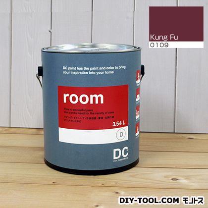 【送料無料】DCペイント かべ紙に塗る水性塗料Room(室内壁用ペイント) 【0109】Kung Fu 約3.8L