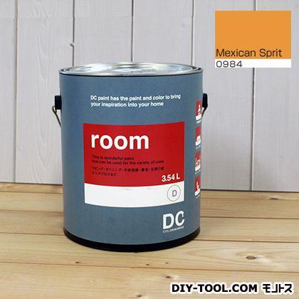 【送料無料】DCペイント かべ紙に塗る水性塗料Room(室内壁用ペイント) 【0984】Mexican Spirit 約3.8L