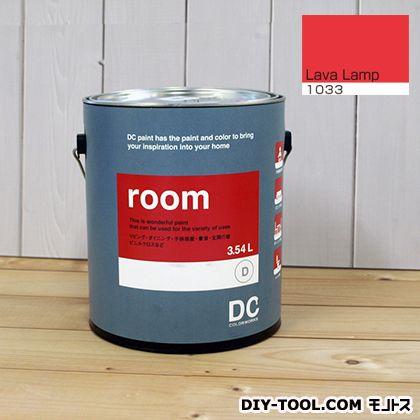 【送料無料】DCペイント かべ紙に塗る水性塗料Room(室内壁用ペイント) 【1033】Lava Lamp 約3.8L
