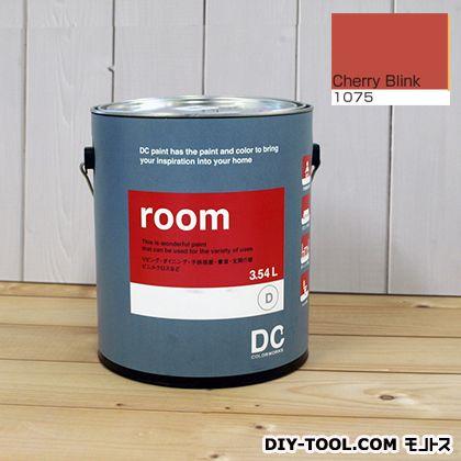 【送料無料】DCペイント かべ紙に塗る水性塗料Room(室内壁用ペイント) 【1075】Cherry Blink 約3.8L