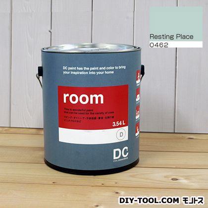 【送料無料】DCペイント かべ紙に塗る水性塗料Room(室内壁用ペイント) 【0462】Resting Place 約3.8L